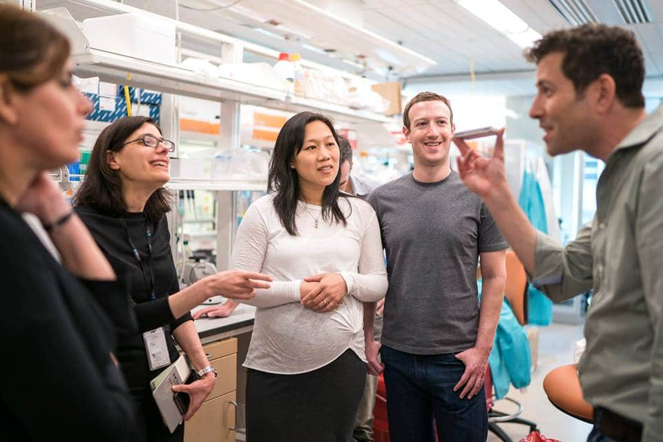 Priscilla Chan and Mark Zuckerberg, founders of the CZI Initiative